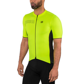 Alé Cycling Solid Color Block Cykeltrøje Herrer, flou yellow